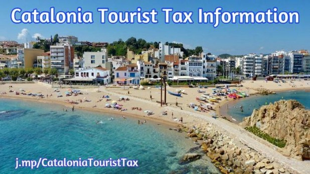 Information Tourist Tax Catalonia Spain